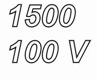 MUNDORF MLGO, 1500uF/100V ±20%, Electrolytic capacitor