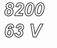 MUNDORF MLGO, 8200uF/63V, ±20%, Electrolytic capacitor