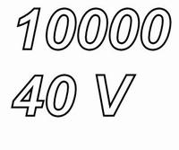 MUNDORF MLGO, 10000uF/40V, ±20%, Electrolytic capacitor