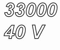 MUNDORF MLGO, 33000uF/40V, ±20%, Electrolytic capacitor