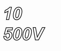 MUNDORF MLAL, 10uF/500V, ±20% Electrolytische condensator<br />Price per piece