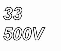 MUNDORF MLAL, 33uF/500V, 20%, Electrolytic capacitor