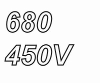 MUNDORF MLGO, 680uF, 450Vdc, 85ºC, Power Cap<br />Price per piece