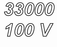 MUNDORF MLHC, 33000uF/100V ±20%, Electrolytic capacitor