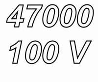 MUNDORF MLHC, 47000uF/100V, ±20%, Electrolytic capacitor