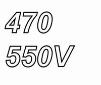 MUNDORF MLGO+, 470uF/550V, ±20%, Electrolytic capacitor
