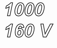 MUNDORF MLGO+, 1.000uF, 160Vdc, 105ºC, audio grade++