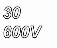 MUNDORF TUBECAP, 30uF/600V, 5%, Electrolytic capacitor