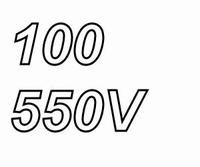 MUNDORF TUBECAP, 100uF/550V, 5%, Electrolytic capacitor<br />Price per piece