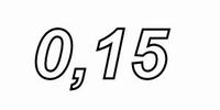 MUNDORF VL250, 0,15mH, ±3% Luftspule, Ø2,5mm OFC Draht, vac.<br />Price per piece