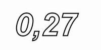 MUNDORF VL250, 0,27mH, ±3% Luftspule, Ø2,5mm OFC Draht, vac.<br />Price per piece