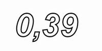 MUNDORF VL250, 0,39mH, ±3% Luftspule, Ø2,5mm OFC Draht, vac.<br />Price per piece