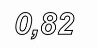 MUNDORF VL250, 0,82mH, ±3% Luftspule, Ø2,5mm OFC Draht, vac.<br />Price per piece