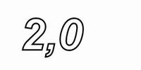 MUNDORF VL250, 2,0mH, ±2% Luftspule, Ø2,5mm OFC Draht, vac.<br />Price per piece