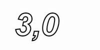 MUNDORF VL250, 3,0mH, ±2% Luftspule, Ø2,5mm OFC Draht, vac.<br />Price per piece