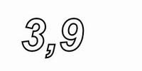 MUNDORF N200, 3,9mH, ±5%, FERON ZOC coil, Ø2,0mm OFC <br />Price per piece