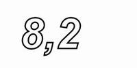 MUNDORF T200, 8,2mH,±3% FERON E-Kern Spule, Ø2,0mm OFC Draht<br />Price per piece