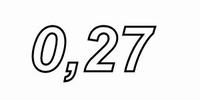 MUNDORF MR10, 0,27Ω,    ±5%, MOX Widerstand, 10W