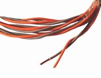 MUNDORF CUW210GY/OG, 2x0,8mm² OFC koperdraad<br />Price per meter
