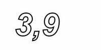 MUNDORF MR5, 3,9Ω,    ±2%, MOX Widerstand, 5W<br />Price per piece