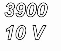 PANASONIC FCA, 3900uF/10V electrolytic capacitor, radial, 10