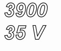PANASONIC FC, 3900uF/35V Radial electrolytic capacitor