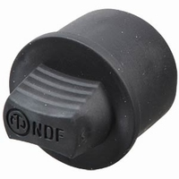 NEUTRIK NDF, XLR stofkap, voor female chassis connectors<br />Price per piece