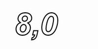 V-Cap OIMP capacitor, 8uF, 5%, 150V<br />Price per piece