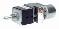 ALPS High-end stereo potentiometer,10k log., PCB / motor
