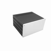 MODU Galaxy 1NGX287-4U, 10mm silver front, 230x183x167mm