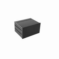 MODU Galaxy 1NGX287N-4U, 10mm black front, 230x183x167mm
