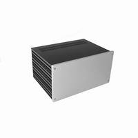 MODU Galaxy Magg. 1NGX383-4U, 10mm silver, Depth 230mm<br />Price per piece
