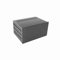 MODU Galaxy 1NGX383N-4U, 10mm black front, 330x243x167mm