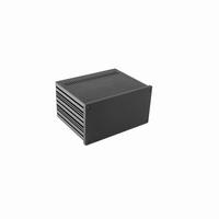 MODU Galaxy 1NGXA287N-3U, 10mm black front, 230x183x124mm