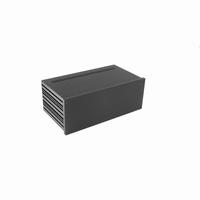 MODU Galaxy 1NGXA387N-3U, 10mm black front, 330x183x124mm