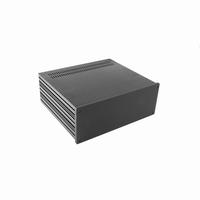 MODU 1NGXA388N-3U, Galaxy  cabinet, full alu, black 10mm fro