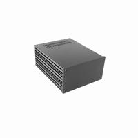 MODU Galaxy 1NGX288N-3U, 10mm black, Depth 280mm