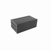 MODU Galaxy 1NGX387N-3U, 10mm black, Depth 170mm