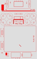 ELTIM PSFL42-8S Symmetrical Power supply module, ±8V, 42VA