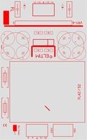 ELTIM PS-FLS52xx, symmetrical power supply module, 52VA