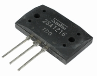 SANKEN 2SA1216Y, PNP Power transistor 200W, MT200<br />Price per piece