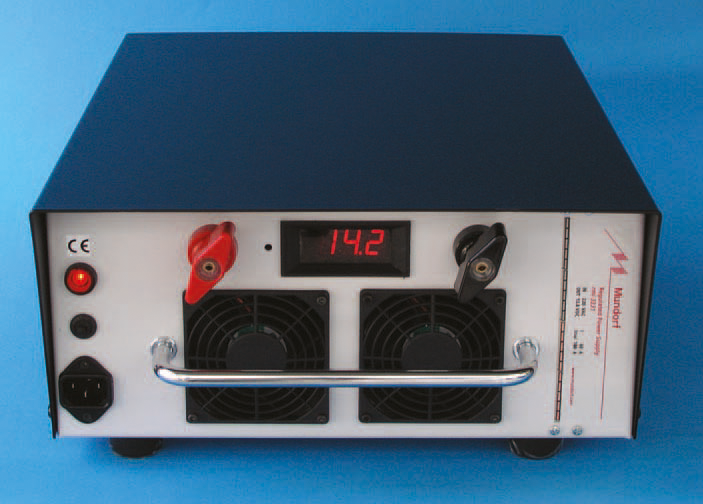 MUNDORF RMI3332, Car audio demo Power Supply