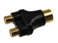 KACSA AA-715G, 5p DIN / 2xRCA adapter