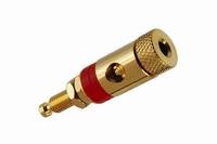 KACSA BP-226G, Binding post, gold plated full-metal