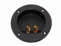 IT LT02RU, Speaker terminal, gold plated connectors, Ø104mm