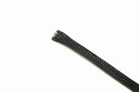 KACSA ES-304818B, Snake skin, black, 6-18mm. Price per meter