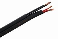 KACSA KCE-BI40, Speaker cable black, 2x 2,3mm²/2x1,7mm²