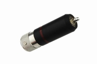 KACSA RP-196ST10, prof. silver plated locking type RCA conne