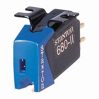STANTON 680 EL II, Cartridge + extra stylus
