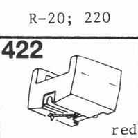 A.D.C. 220, R-20 Stylus, diamond, stereo